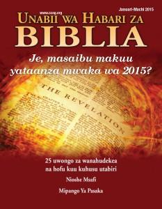 BNP Cover JAN-MAR 2015 - Kiswahili